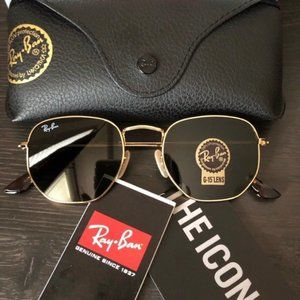 New Authentic Ray-Ban Hexagonal RB3548